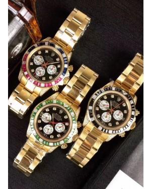 Replica Rolex Daytona 43mm Gold Watch