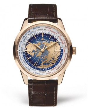 Replica Jaeger-LeCoultre Geophysic Universal Time Q8102520 Pink Gold