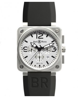 Replica Bell & Ross Aviation BR01-94 White Dial