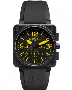 Replica Bell & Ross Aviation BR01-94 Yellow