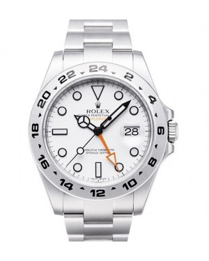 Replica Rolex Explorer II Polar White Dial 216570 Watch