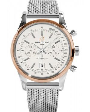 Replica Breitling Transocean Chronograph 38 Two Tone Ocean Classic Bracelet U4131012/G757 Watch