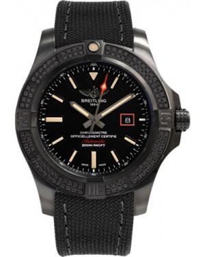 Exact Replica Breitling Avenger Blackbird 44 Diamonds V17311AT/BD74 Watch