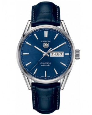 Replica Tag Heuer Carrera Day Date 41mm Blue Dial Automatic Watch WAR201E.FC6292