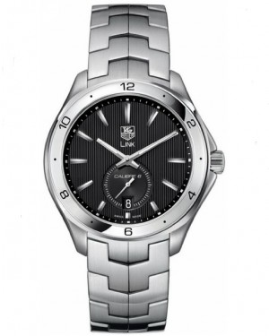 Replica Tag Heuer Link Calibre 6 Automatic Black Dial Watch WAT2110.BA0950