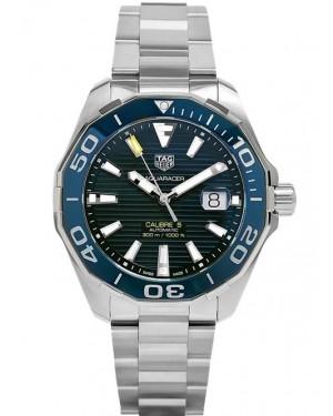 Replica Tag Heuer Aquaracer 300M Calibre 5 Steel Blue Dial WAY201B.BA0927
