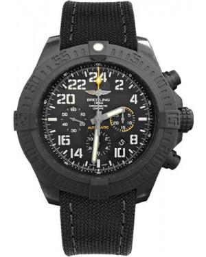 Exact Replica Breitling Avenger Hurricane Military Strap Black Dial XB1210E4/BE89 Watch