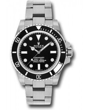 Exact Replica Rolex Submariner 114060 Steel Watch