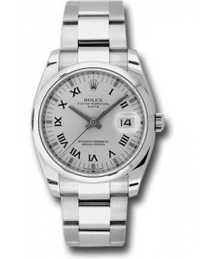 Exact Replica Rolex Oyster Perpetual Date 115200 sro 34mm Domed Bezel Oyster Bracelet