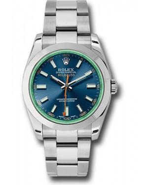 Exact Replica Rolex Milgauss 116400GV blo Watch