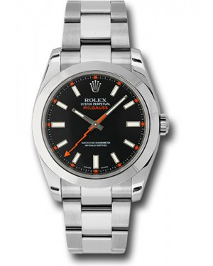 Exact Replica Rolex Milgauss 116400 bko Watch