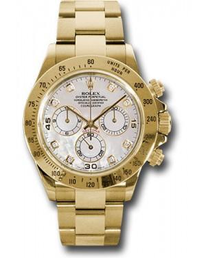 Exact Replica Rolex 116528 md Daytona Yellow Gold Bracelet