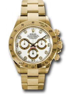 Exact Replica Rolex 116528 wd Daytona Yellow Gold Bracelet