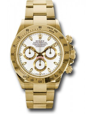 Exact Replica Rolex 116528 ws Daytona Yellow Gold Bracelet