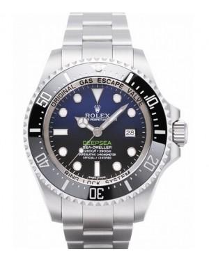 Replica Rolex Sea-Dweller Deepsea D-Blue Dial 116660