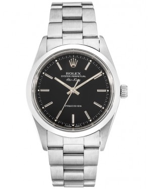 Replica Rolex Air-King 14000 Stainless Steel Black Dial