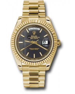 Exact Replica Rolex Day-Date 40 228238 bkdmip Yellow Gold Watch