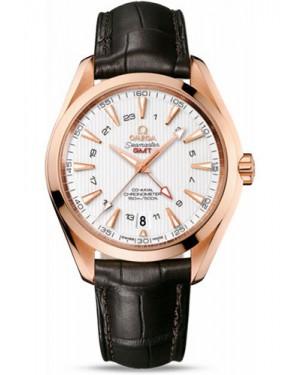 Exact Replica Omega Seamaster Aqua Terra 150M GMT 43 mm Red Gold 231.53.43.22.02.001 Watch