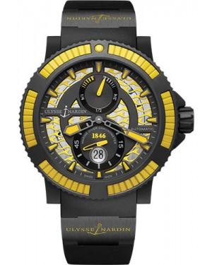 Replica Ulysse Nardin Diver Black Sea Yellow 263-92B4-3C/924