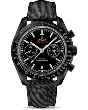 Exact Replica Omega Speedmaster Moonwatch Co-Axial Chronograph 44.25 mm Black Ceramic 311.92.44.51.01.003