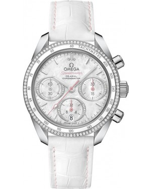 Replica Omega Speedmaster 38 Chronograph Diamonds 324.38.38.50.55.001