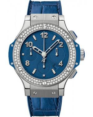 Replica Hublot Big Bang Tutti Frutti Dark Blue Steel 41mm Diamonds 341.SL.5190.LR.1104