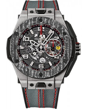 Replica Hublot Big Bang Ferrari 45mm Titanium Carbon 401.NJ.0123.VR