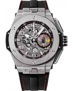 Replica Hublot Big Bang Ferrari 45mm Titanium Limited Edition 401.NX.0123.GR