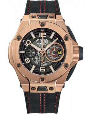 Replica Hublot Big Bang Ferrari 45mm King Gold Limited Edition 402.OX.0138.WR