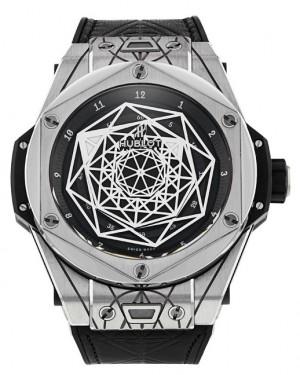 Replica Hublot Big Bang Sang Bleu Titanium Limited Edition 415.NX.1112.VR.MXM16 Watch