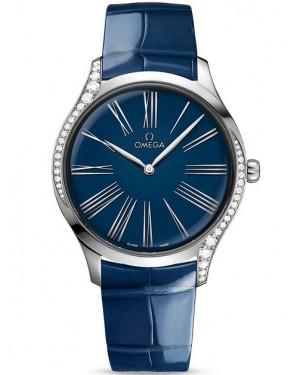 Replica Omega De Ville Tresor Blue Roman Diamonds 428.18.39.60.03.001 Watch