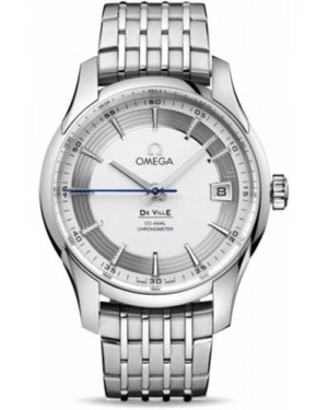 Exact Replica Omega De Ville Hour Vision Co-Axial 41mm Stainless Steel Silver Dial 431.30.41.21.02.001 Watch