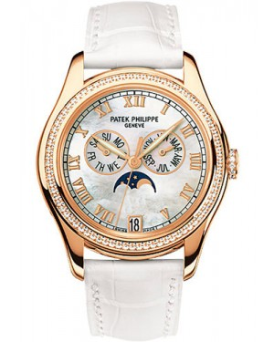 Replica Patek Philippe Ladies Annual Calendar 37mm Rose Gold 4936R-001 Watch