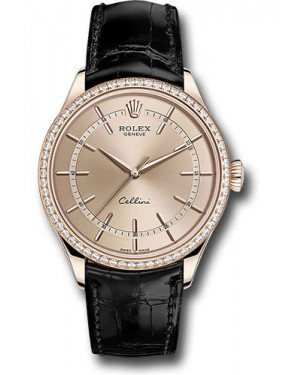 Replica Rolex Cellini Time Everose Gold Pink Dial 50705RBR pbk Watch