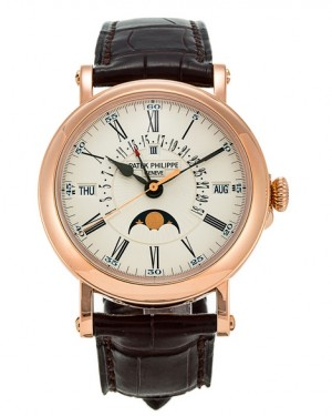 Replica Patek Philippe Perpetual Calendar Moonphase 5159R-001 Grand Complications Rose Gold Watch