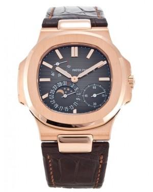 Exact Replica Patek Philippe Nautilus 5712R-001 Mens Rose Gold Watch