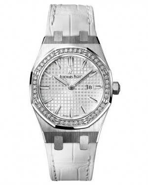 Exact Replica Audemars Piguet Royal Oak Lady Quartz 33mm Stainless Steel Silver Dial 67651ST.ZZ.D011CR.01 Watch