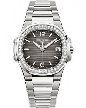 Exact Replica Patek Philippe Nautilus 7010/1G-012 Ladies White Gold Watch