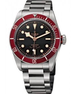 Replica Tudor Heritage Black Bay Stainless Steel Red 79220R