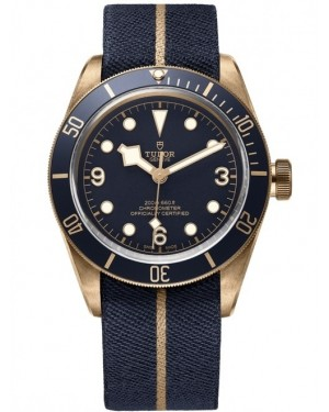 Replica Tudor Heritage Black Bay Bronze Blue Bucherer Watch