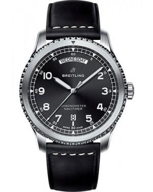 Replica Breitling Navitimer 8 Day&Date 41mm A45330101B1X1 Black Dial