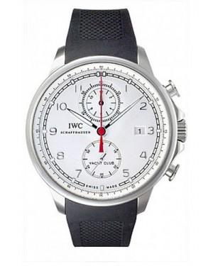 Replica IWC Portuguese Yacht Club Chronograph Steel Silver IW390211