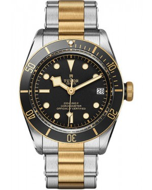 Replica Tudor Heritage Black Bay Steel and Gold M79733N