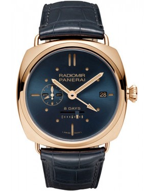 Replica Panerai Radiomir 8 Days GMT Red Gold PAM00538