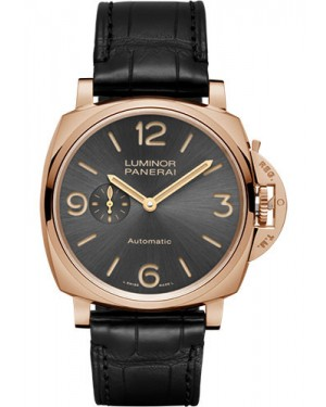 Replica Panerai Luminor Due 3 Days 45mm Red Gold Automatic PAM00675