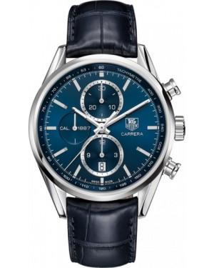 Exact Replica Tag Heuer Carrera 1887 Blue Dial Chronograph 41mm CAR2115.FC6292