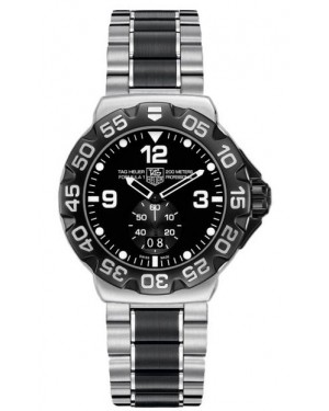 Exact Replica Tag Heuer Formula 1 Quartz 44mm Steel and Black Ceramic WAH1010.BA0873 Watch