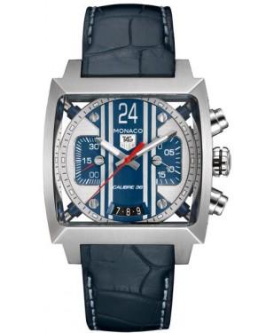 Exact Replica TAG Heuer Monaco Monaco 24 Steve McQueen Chronograph CAL5111.FC6299