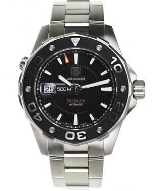Exact Replica TAG Heuer Aquaracer 500M Calibre 5 Black Dial Automatic 43mm WAJ2110.BA0870 Watch