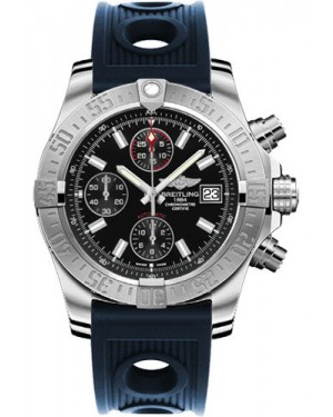 Exact Replica Breitling Avenger II Black Dial Blue Ocean Racer Strap A1338111/BC32 Watch